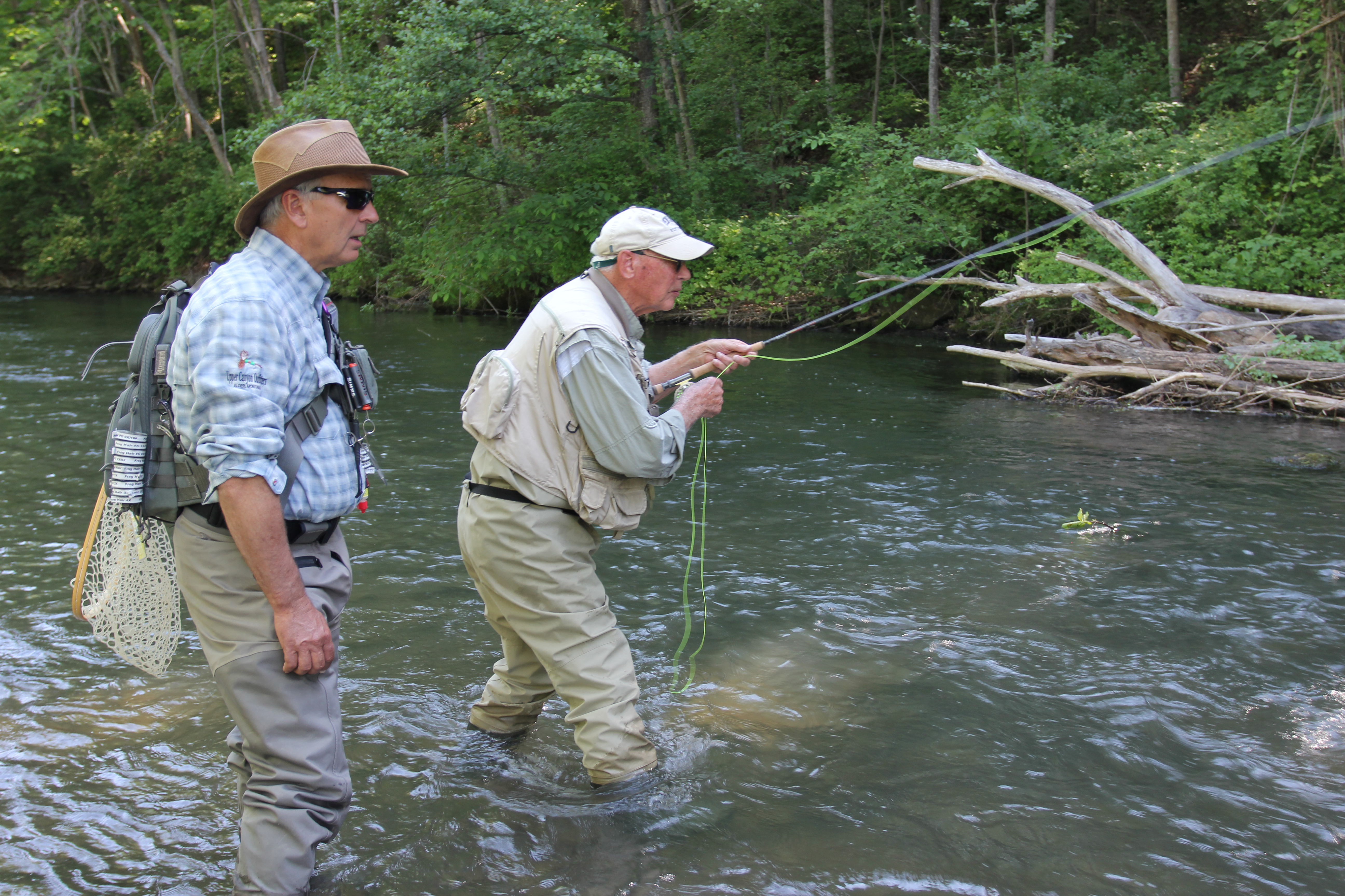 Masters of nymph for George daniel fly fishing